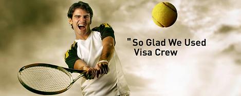 testimonial visa crew