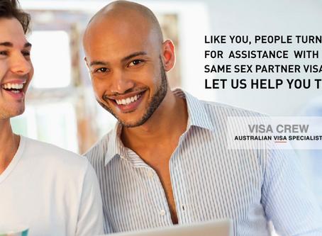 Same Sex Partner Visa - Australia