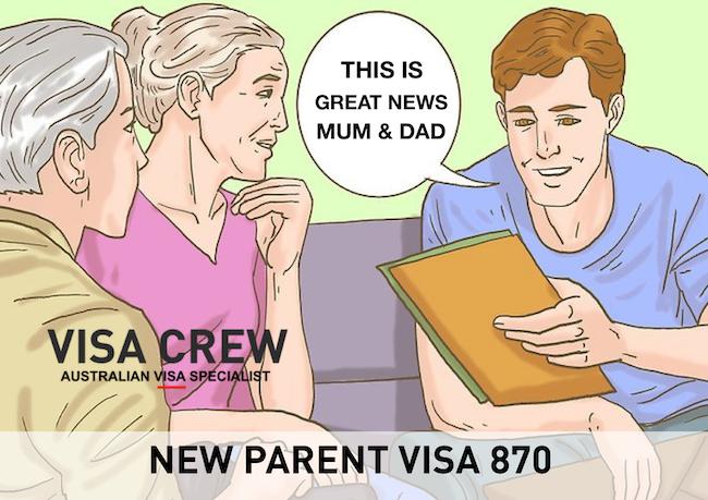 SPONSORSHIP PARENT VISA