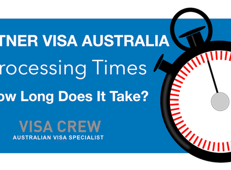 Partner Visa Processing Times