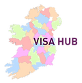 Ireland Map with county