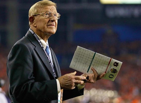 "Lou Holtz's ""silver spoon in my mouth"""