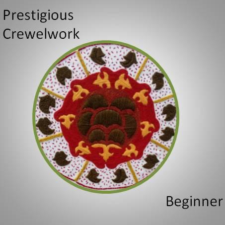 Prestigious Tudor Crewelwork