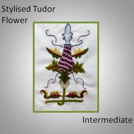Stylised Tudor Flower