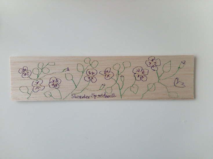 Embroidered Balsa Oblongs