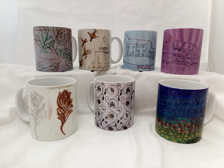 10 oz Ceramic Mug printed with Artwork Range 1