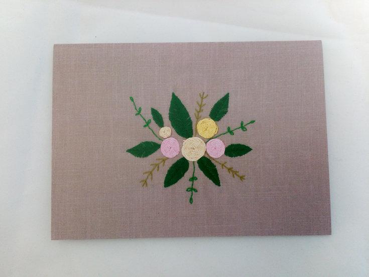 Bloom of Flowers Greetings Card
