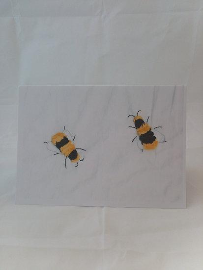 Bees Greetings Card