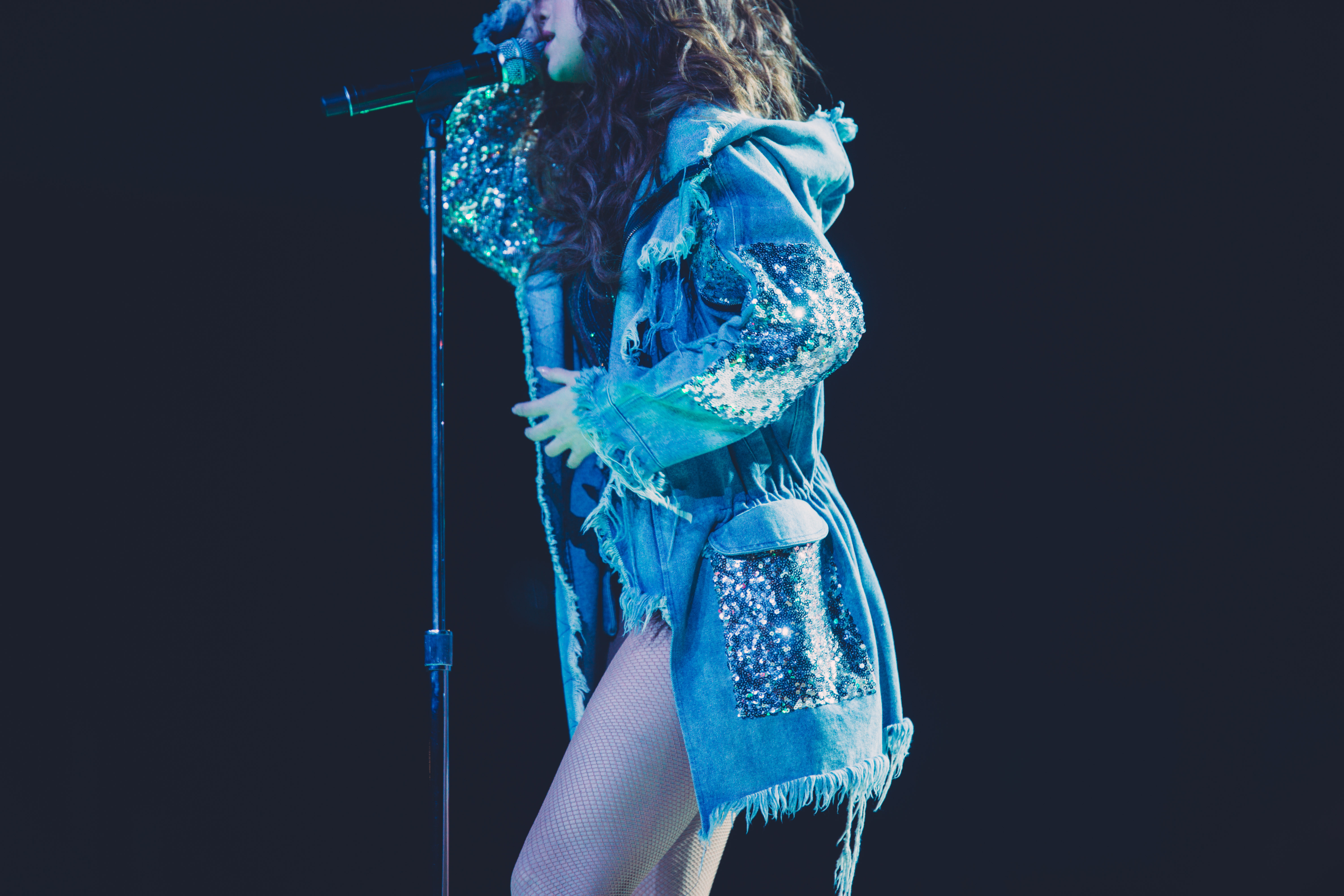 Selena Gomez performing during her Revival Tour by Izak Rappaport
