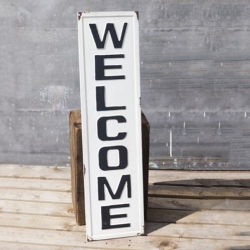 """36"""" Tin Welcome Sign"""