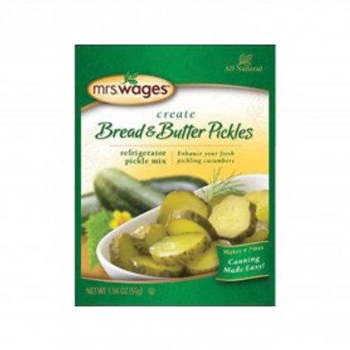 Bread & Butter Refridgerator mix