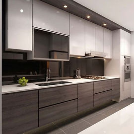 Straight & Parallel Kitchen