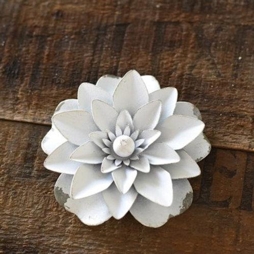 Tin Flower Magnet