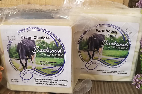 Backroad Creamery Block cheese