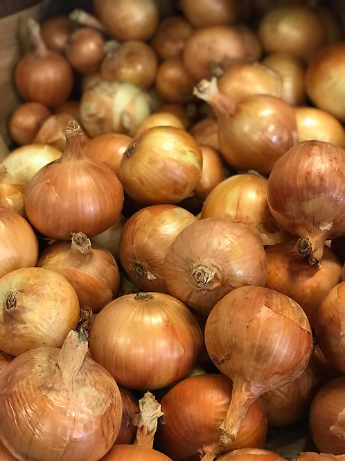 Onions by the pound