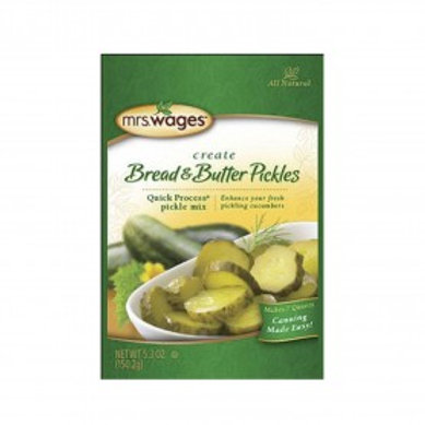 Bread& Butter Pickle Mix