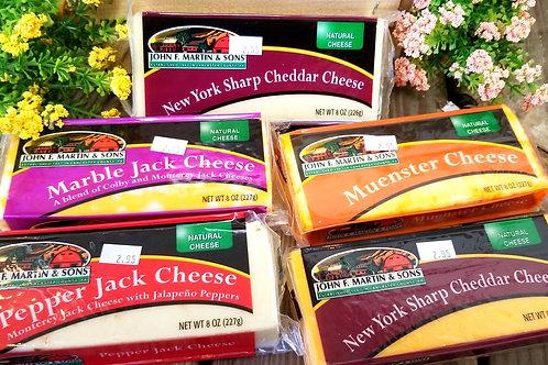 JFM 8oz block cheese