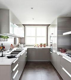 U-Shaped Kitchen Design