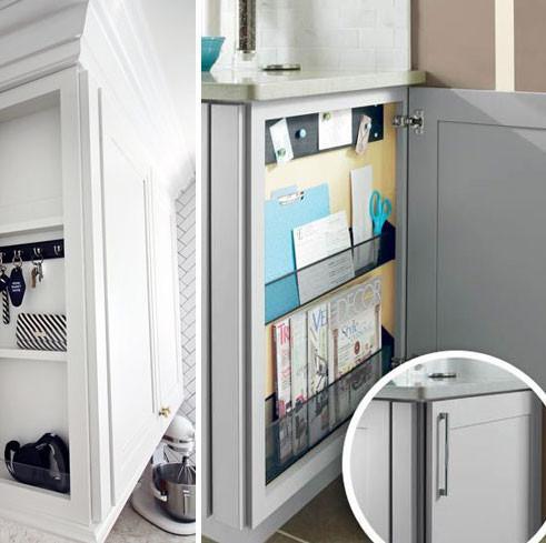 Message Centre Kitchen Cabinets