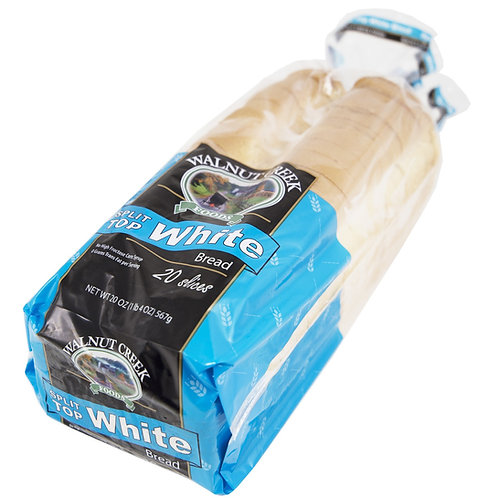 Split Top White Bread