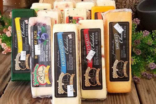 Shtayburne Block Cheeses