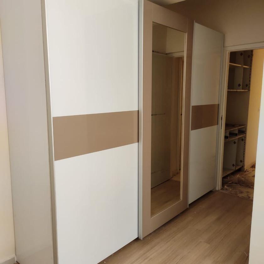 Three Door Sliding Wardrobe by Wonder Spaces