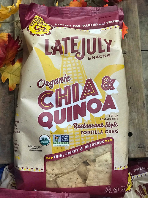 Chia & Quinoa Tortilla Chips