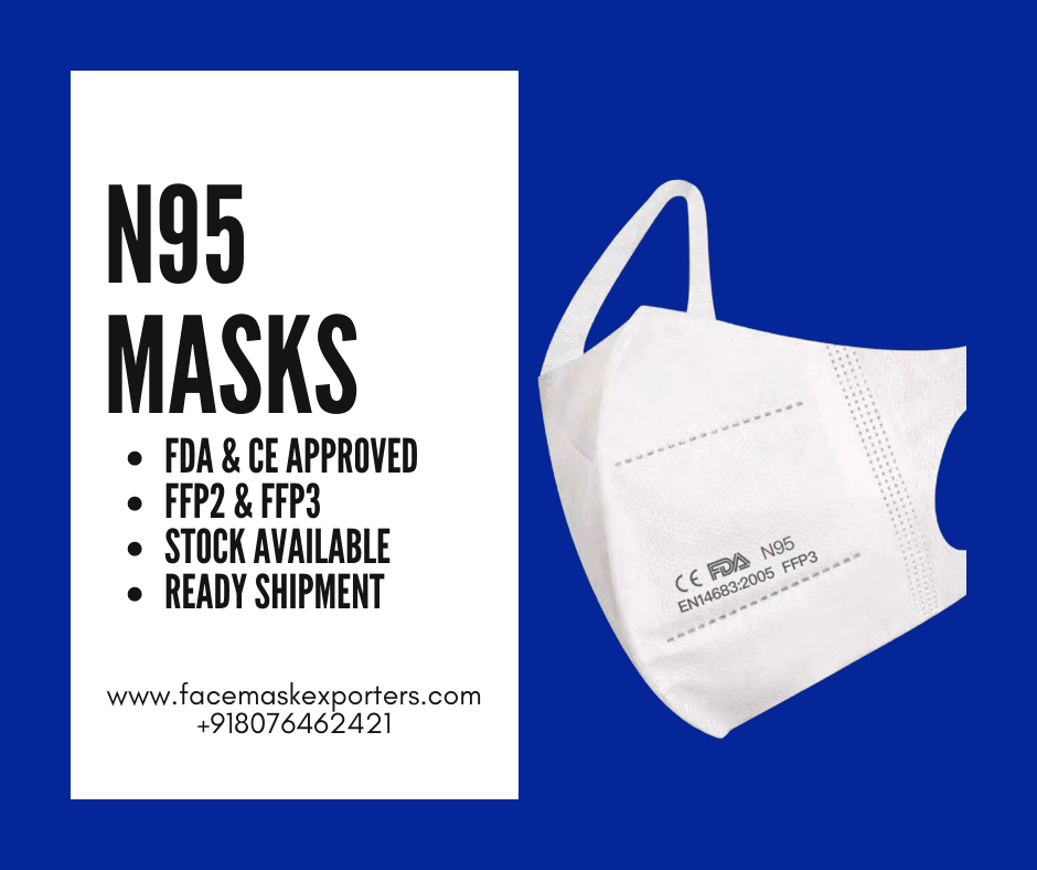 N95 Face Masks Import from China