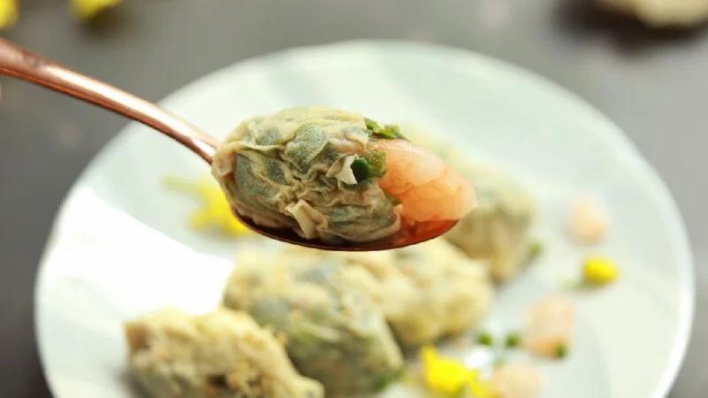 台灣 原味時代 低糖千張餃 韭菜蝦仁 Dumpling Chives with Shrimp