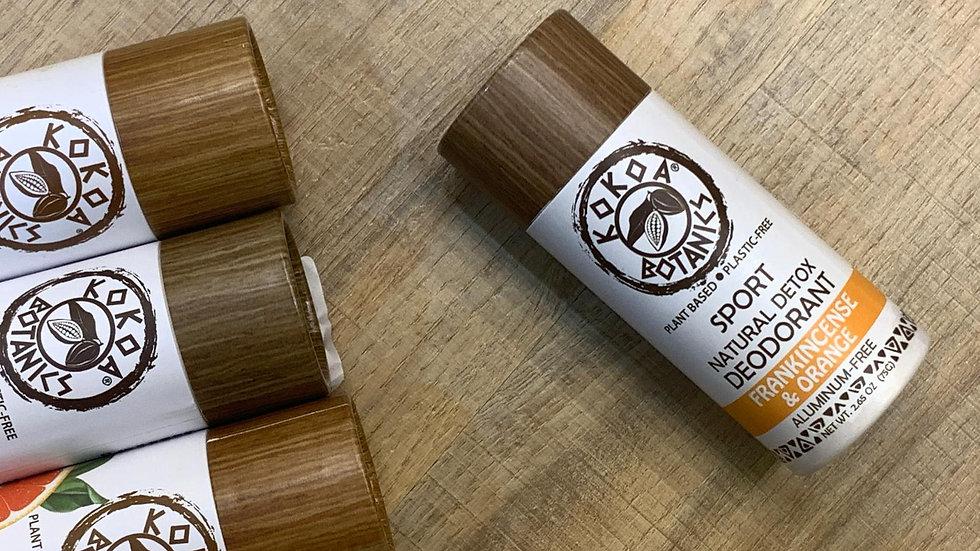 美國KOKOA BOTANCIS 天然精油排毒香體膏 乳香及香橙 FRANKINCENSE & ORANGE