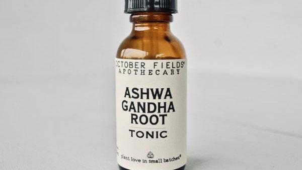 美國OCTOBER FIELDS herb alchemy Ashwagandha Tonic 印度人蔘