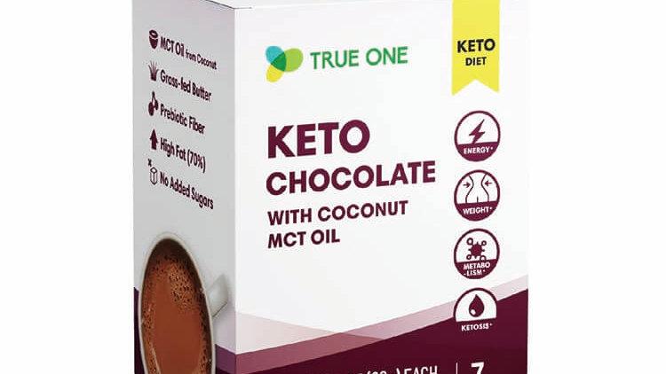 台灣TRUE ONE 防彈可可KETO Chocolate With Coconut MCT Oil