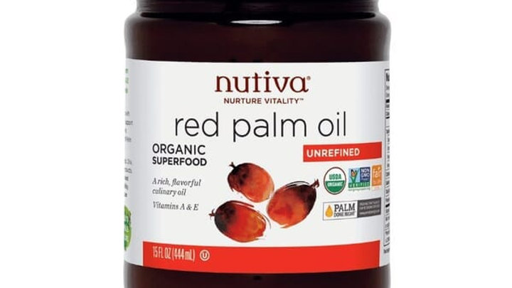美國 Nutiva Organic Red Palm Oil 紅棕櫚油 444g
