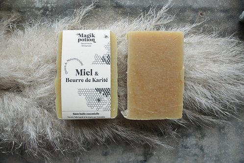 Miel et beurre de karité - Savon