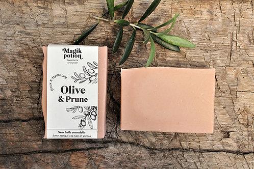 Olive et prune - Savon