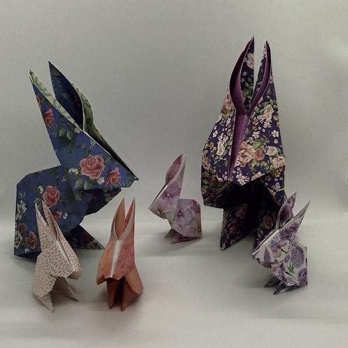 Petit Lapin en origami