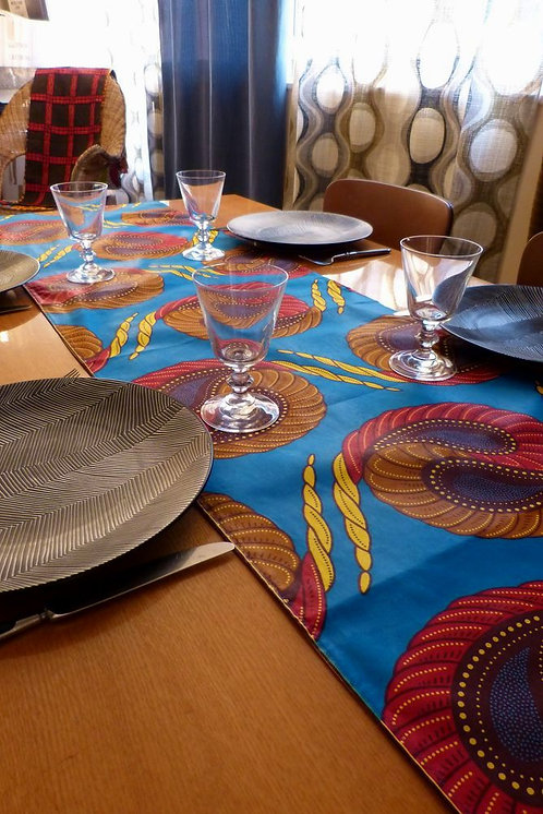 Wax foulard ou chemin de table
