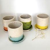 tasses céramique en raku