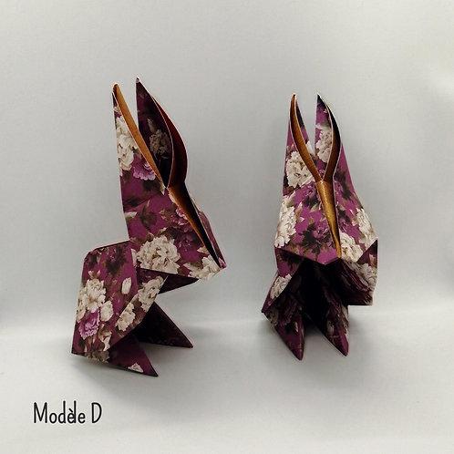 Grand Lapin en origami