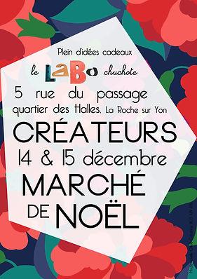 Marché d'artisans créateurs pour Noël 2019