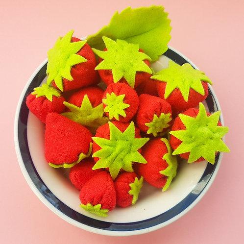 3 fraises