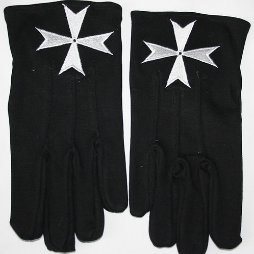Knights of Malta Cotton Gloves (Freedelivery)