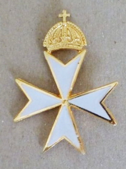 Knights of Malta Commanders Hat Badge