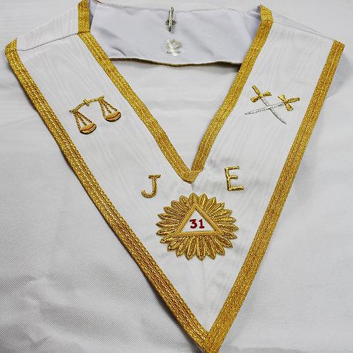 Scottish Rite 31st Degree Collar (Free Delivery)
