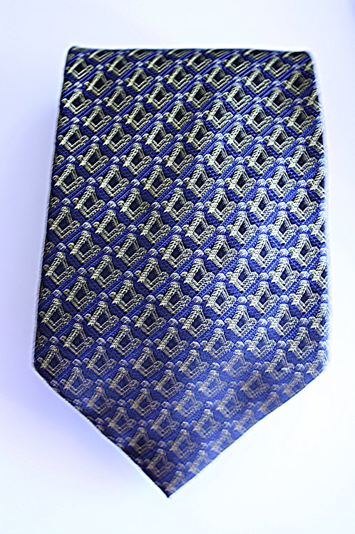 Masonic Craft Silk Tie (Free Delivery)