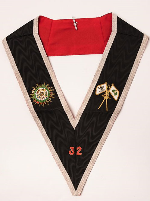 Scottish Rite 32nd Degree Collar (Free Delivery)