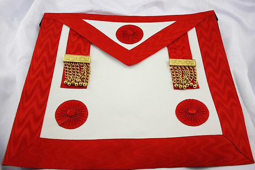 French Craft Lodge Master Masons Lambskin Apron (Free Delivery)