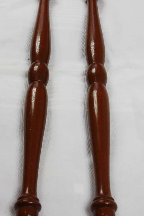 Pair of Royal Arch Wooden Sojourner Batons (Free Delivery)