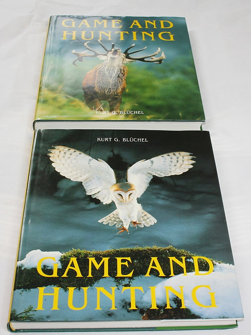 Game and Hunting Book Set ( Free Delivery)