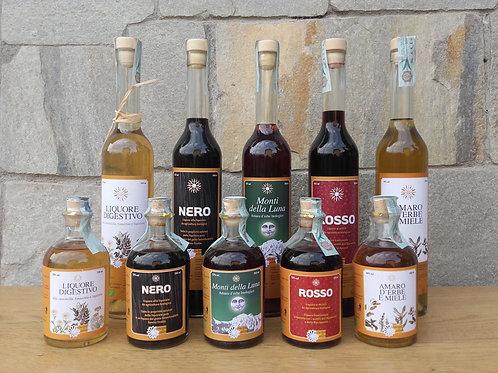 Rosso - Liquore ai mirtilli - Soc. Coop. Principio Attivo